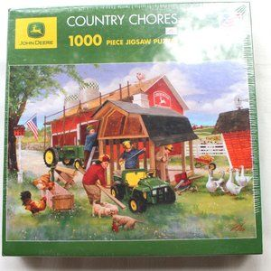 John Deere Country Chores 1000 Piece Puzzle New